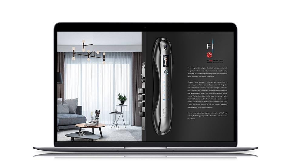 指紋鎖設計-深圳工業設計公司-上海工業設計公司-廣州工業設計公司-怡覺