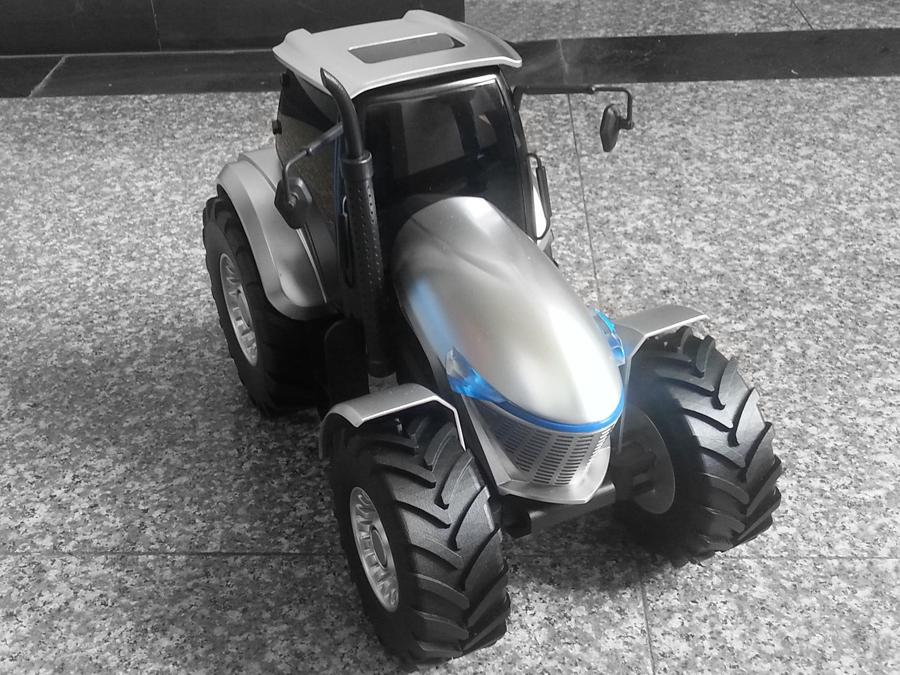 概念拖拉機-工業設計,智能產品