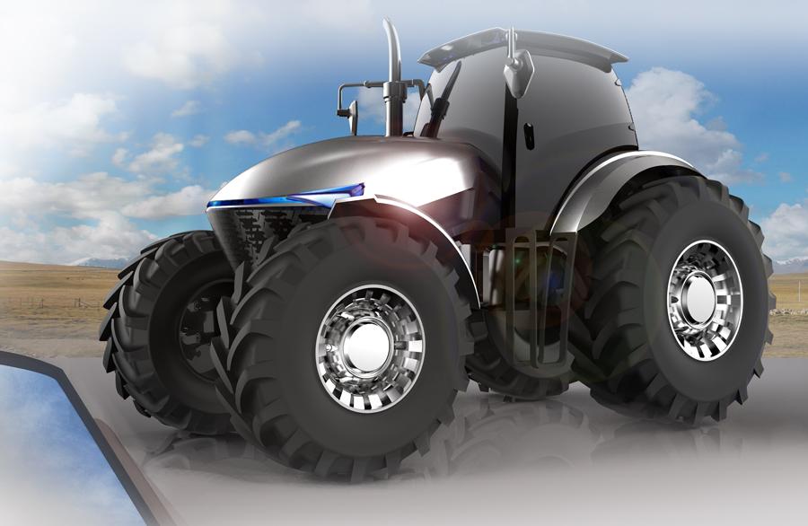 概念拖拉機-工業產品設計,安徽工業設計