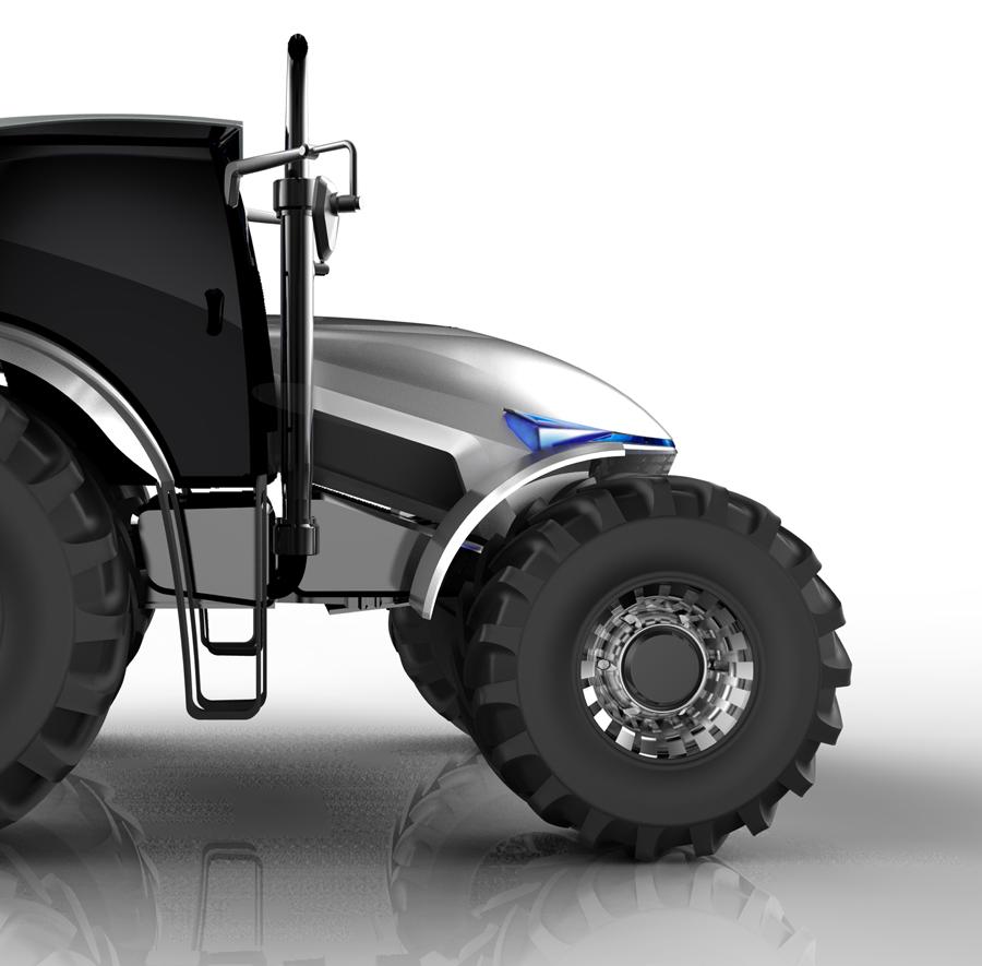 概念拖拉機-工業設備產品設計,南京工業設計公司