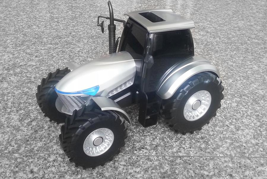 概念拖拉機-產品效果圖-造型設計